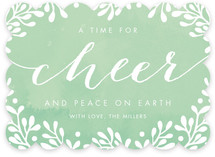 A Time For Cheer