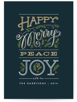 Happy merry peace joy by Jennifer Wick