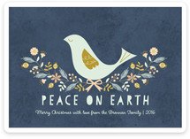 Nordic Peace Dove Holiday Cards