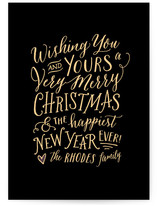 Merry and Gold by Hooray Creative