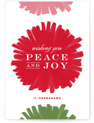 Festive & Fab Holiday Non-Photo Cards