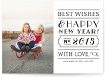 Roaring New Year New Year Photo Cards