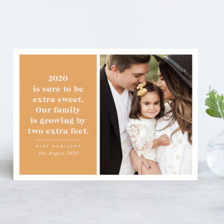 Extra Sweet New Year Photo Cards
