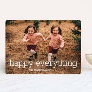 Happy Everything New Year Photo Cards