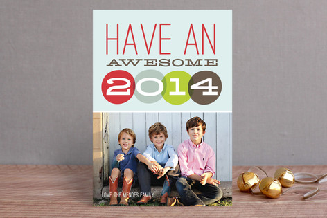 Ring in 2014 New Year Photo Cards