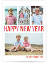 Merry & Bright New Year Photo Cards
