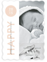 Baby New Year's Photo Cards