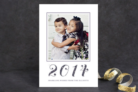 Elegant Year New Year Photo Cards