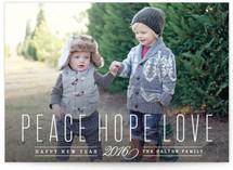 Peace Hope Love