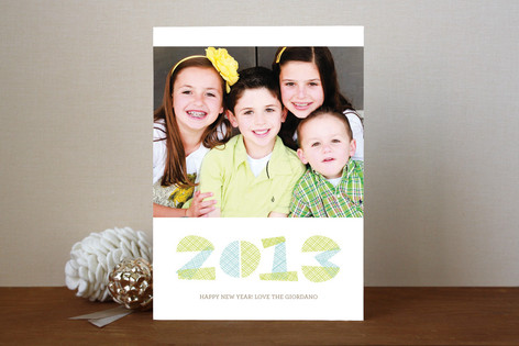 Hip Hatch New Year Photo Cards