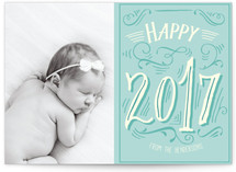 Vintage Lettered New Year