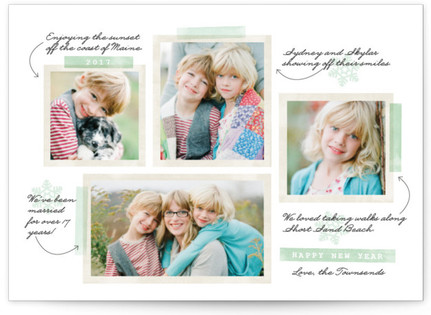 Our Favorite Moments New Year's Photo Cards