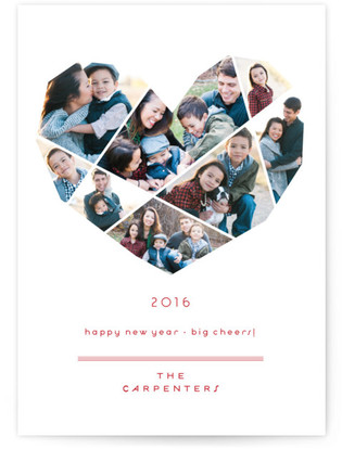 Complete Love New Year's Photo Cards