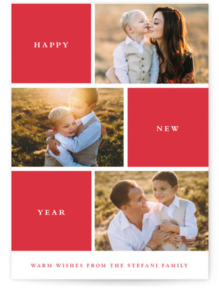 Photo Session New Year's Photo Cards