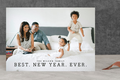 Best Year Ever New Year Photo Cards