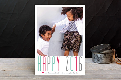A Whole Lot of Joy New Year Photo Cards