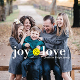 Little Joy Holiday Ornament Cards