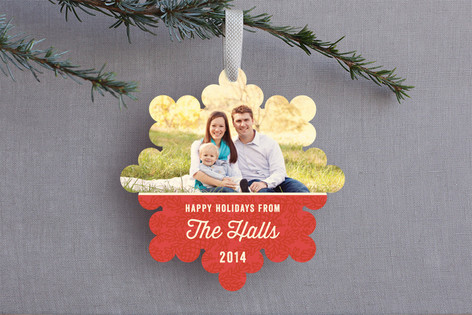 Fine Pine Holiday Ornament Cards