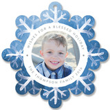 Watercolor Snowflakes by Smudge Design