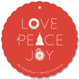 Icons Peace Love Joy by curiouszhi design