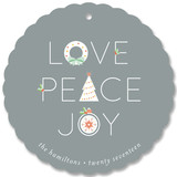 Icons Peace Love Joy