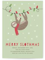 Merry Slothmas by Chelsey Scott