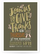Handdrawn Give Thanks