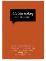 Talk Turkey by Susan Brown