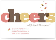 Bubbly Cheers by Amanda Larsen Design