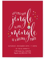 Jingle In Our Mingle by Sandra Picco Design