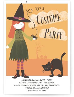Bella's Bash Holiday Party Invitations
