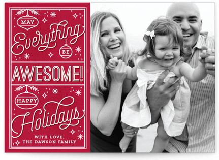 Awesome Everything Holiday Postcards