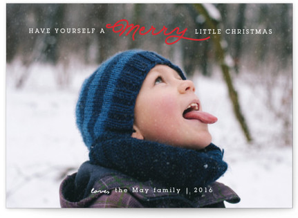 Have Yourself A Merry Little Christmas Holiday Postcards