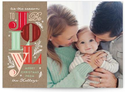 Jolly Blocks Holiday Postcards