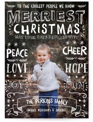 Merriest Greetings Holiday Postcards