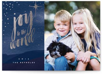 Night Sky Holiday Postcards