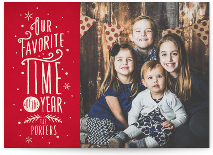 Our Favorite Time Holiday Postcards