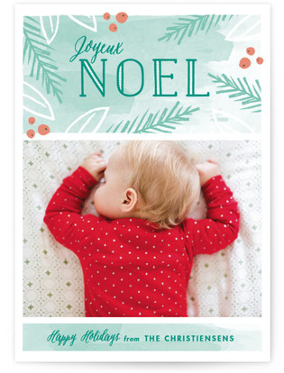 Peaceful Noel Holiday Postcards