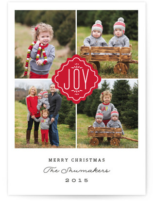 Timeless Joy Holiday Postcards