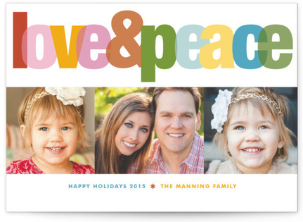 Love & Peace Holiday Postcards