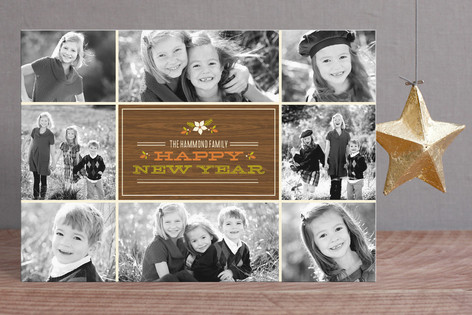 Retro Holiday Collage Holiday Postcards