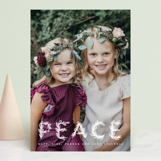 Heavenly Peace Holiday Postcards