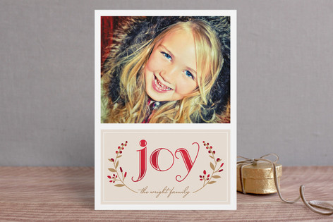 Serene Joy Holiday Postcards