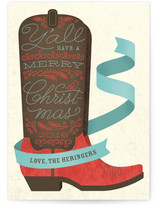 Holiday Boots by Ann Gardner