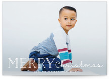 Candy Cane Merry Holiday Postcards