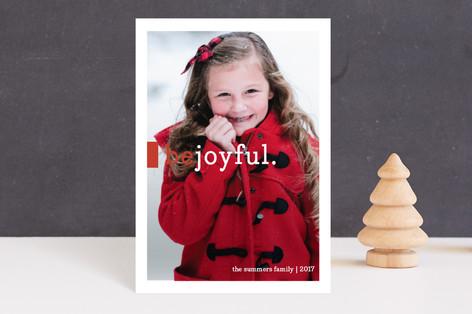 Be Joyful Holiday Postcards