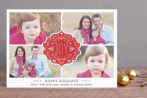 Festive Joy Holiday Postcards