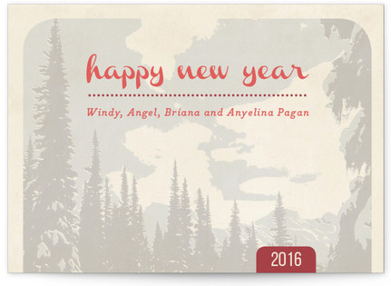 Mountain Pine Holiday Postcards