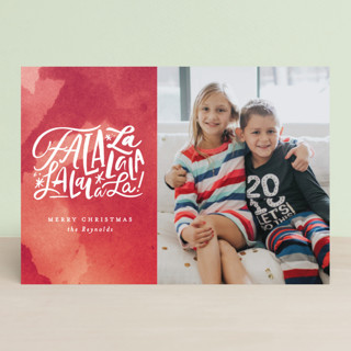 Fa La Forever Holiday Postcards