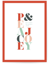 Minimal Peace And Joy by Kelly Schmidt